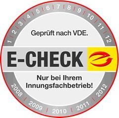 E-Check - für Ihre Sicherheit